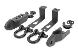 Towing - Tow Hook Mount - Rough Country - Tow Hook To Shackle Conversion Kit | Rough Country (RS152)