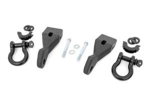 Towing - Tow Hook Mount - Rough Country - Tow Hook To Shackle Conversion Kit | Rough Country (RS156)