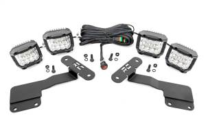 Exterior Lighting - Exterior LED Kit - Rough Country - LED Lower Windshield Ditch Kit   Rough Country (70855)