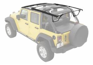 Body Part - Top-Soft Hardware Kit - Bestop - Replacement Soft Top Hardware Factory Style Bows | Bestop (55001-01)