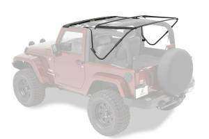 Body Part - Top-Soft Hardware Kit - Bestop - Replacement Soft Top Hardware Factory Style Bows | Bestop (55000-01)