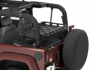 Travel Accessories - Vehicle Utility Rack - Bestop - HighRock 4x4 Universal Rack Tray | Bestop (41444-01)