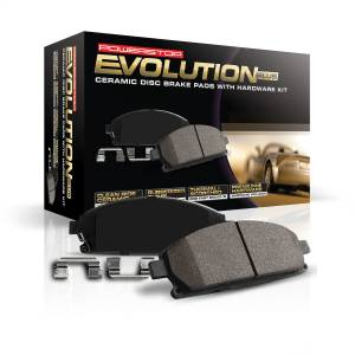 Power Stop - Z17 Evolution Plus Premium Ceramic Brake Pads w/Hardware | Power Stop (17-976B) - Image 2