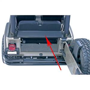 Truck Bed Accessories - Tailgate Bar - Omix - Tailgate Bar | Omix (13550.01)