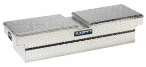 Truck Bed Accessories - Tool Box - Truck Bed Rail-to-Rail - Lund - Aluminum Economy Cross Box | Lund (111052)