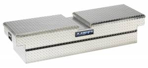Truck Bed Accessories - Tool Box - Truck Bed Rail-to-Rail - Lund - Aluminum Economy Cross Box | Lund (111051)