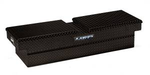Truck Bed Accessories - Tool Box - Truck Bed Rail-to-Rail - Lund - Aluminum Economy Cross Box | Lund (7111052)