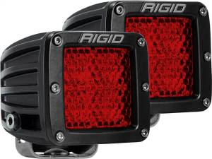 D-Series Rear Facing High/Low Diffused Light | Rigid Industries (90153)