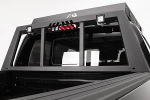 Truck Bed Accessories - Truck Cab Protector/Headache Rack - Fab Fours - Headache Rack   Fab Fours (HR2009-1)