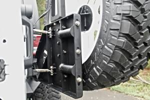 Fab Fours - Off The Door Tire Carrier | Fab Fours (JP-Y1261T-B) - Image 1