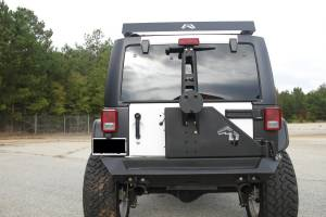Fab Fours - Off The Door Tire Carrier | Fab Fours (JP-Y1261T-B) - Image 3