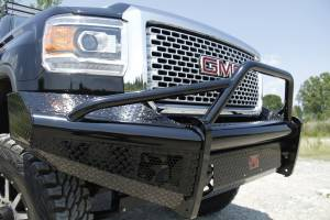 Fab Fours - Black Steel Front Ranch Bumper | Fab Fours (GM14-S3162-1) - Image 2
