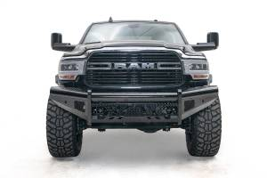 Fab Fours - Black Steel Front Bumper | Fab Fours (DR19-S4461-1)