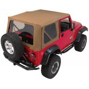 Body Part - Top-Soft - Rampage - Complete Soft Top Kit | Rampage (68836)