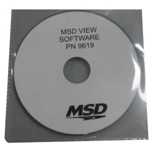 Tools and Equipment - Software - MSD Ignition - MSD View Software   MSD Ignition (9619MSD)