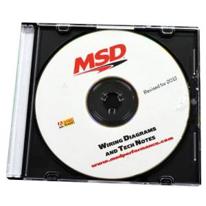 Tools and Equipment - Software - MSD Ignition - CD Rom   MSD Ignition (9607)