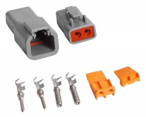 2-Pin Connector Assembly   MSD Ignition (8184)