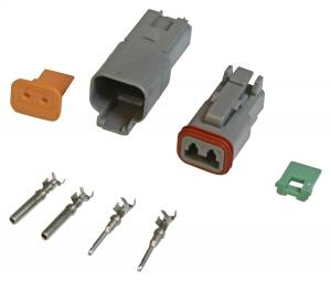 2-Pin Connector Assembly   MSD Ignition (8183)