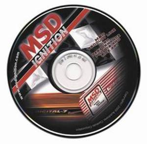 Tools and Equipment - Software - MSD Ignition - CD Rom   MSD Ignition (9606)