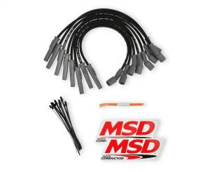 8.5mm Super Conductor Wire Set   MSD Ignition (31633)