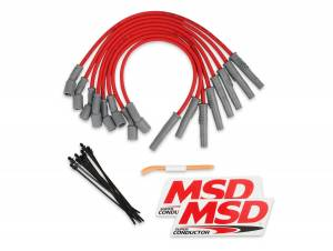 8.5mm Super Conductor Wire Set   MSD Ignition (31639)