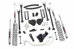 4-Link Suspension Lift Kit w/Shocks | Rough Country (584.20)