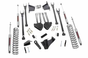4-Link Suspension Lift Kit w/Shocks | Rough Country (591.20)