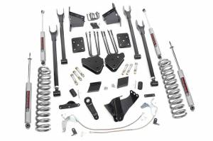 4-Link Suspension Lift Kit w/Shocks | Rough Country (565.20)