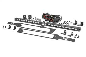 Dual LED Grille Kit | Rough Country (70817)