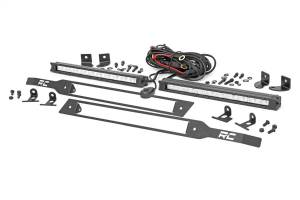 Dual LED Grille Kit | Rough Country (70818)