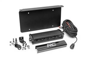 Cree Black Series LED License Plate Mount Kit | Rough Country (70183)