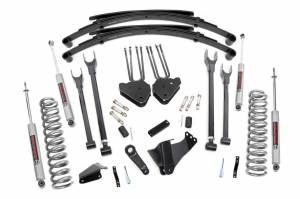 4-Link Suspension Lift Kit w/Shocks | Rough Country (590.20)