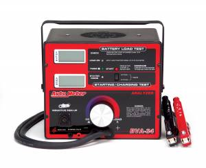 Battery/Electrical System Tester   AutoMeter (BVA-34)