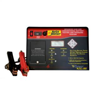 AGM Optimized Battery Tester/Fast Charger | AutoMeter (XTC-160)